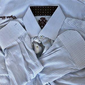 English Laundry long sleeve striped shirt